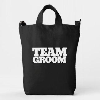 Team Groom Duck Bag