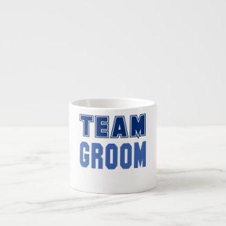 Team Groom Espresso Mugs