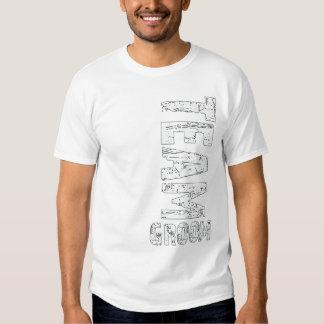 Team Groom Extra Large Grunge Text Shirt