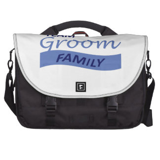 TEAM GROOM FAMILY LAPTOP BAGS