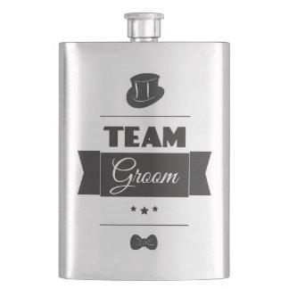 Team groom flask
