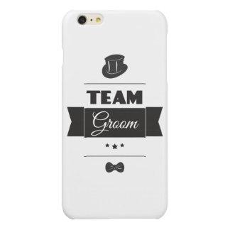 Team groom glossy iPhone 6 plus case