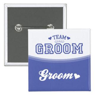 Team Groom Groom Button