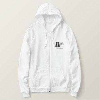 Team Groom - Groomsman Embroidered Hooded Sweatshirts