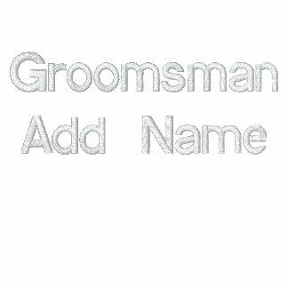 Team Groom Groomsman Hoody