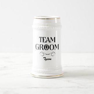 Team Groom - Groomsmen Beer Mug