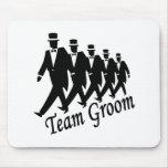 Team Groom Groomsmen Mouse Pad
