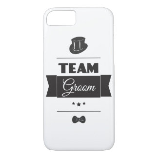 Team groom iPhone 8/7 case