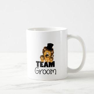 Team groom - lions mug