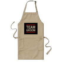 Team Groom Long Apron