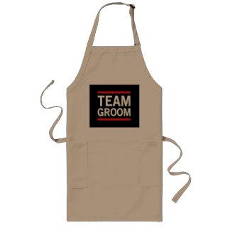 Team Groom Long Apron