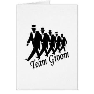 Team Groom (Men) Card