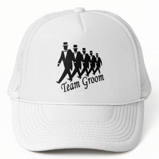 Team Groom (Men) hat