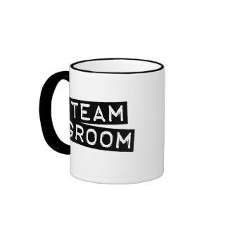 Team Groom Mugs