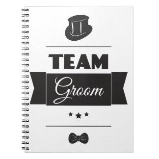 Team groom notebook