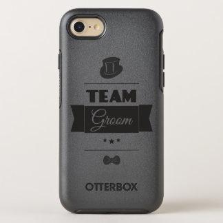 Team groom OtterBox symmetry iPhone 8/7 case