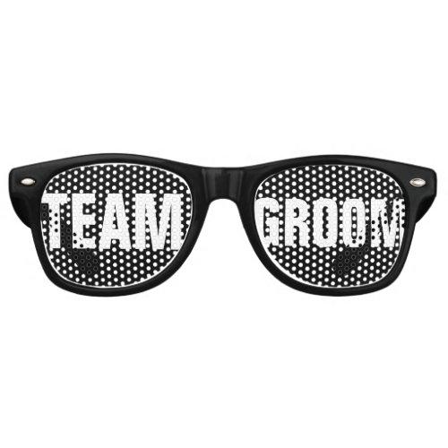 Team Groom party shades