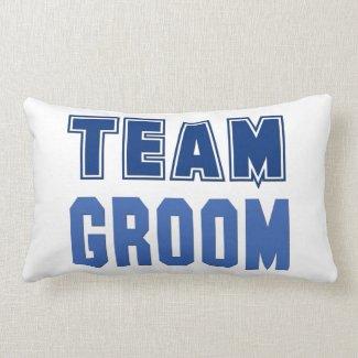 Team Groom Pillows