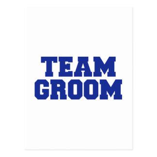 Team Groom Post Card