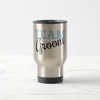 Team Groom Script Coffee Mug