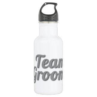 Team Groom Shadow 18oz Water Bottle