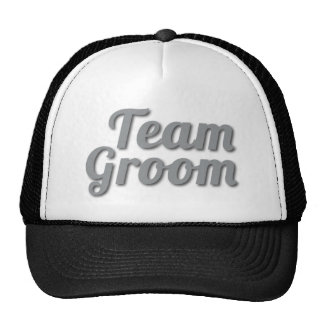 Team Groom Shadow Trucker Hat