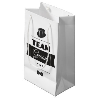 Team groom small gift bag