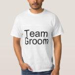 Team Groom Tee Shirts