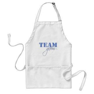 Team Groom theme Adult Apron