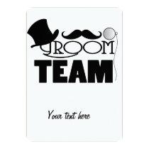Team Groom - Top hat, monocle Card