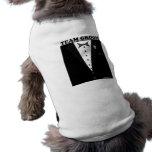 Team Groom (tuxedo) Pet Clothing
