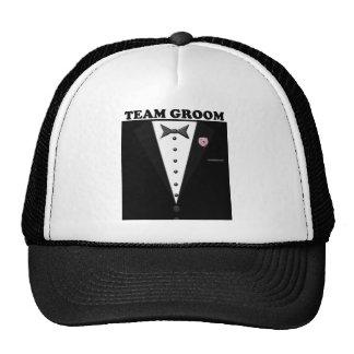 Team Groom (tuxedo) Trucker Hat