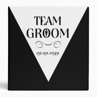 Team Groom - Wedding Binder