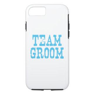 Team Groom Western Blue iPhone 7 Case