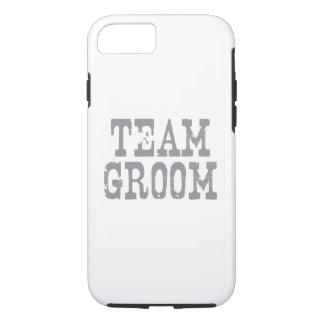 Team Groom Western Grey iPhone 7 Case