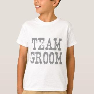 Team Groom Western Grey T-Shirt