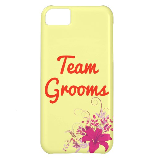 Team Grooms Cover For iPhone 5C