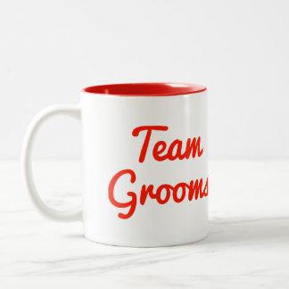 Team Grooms Coffee Mugs