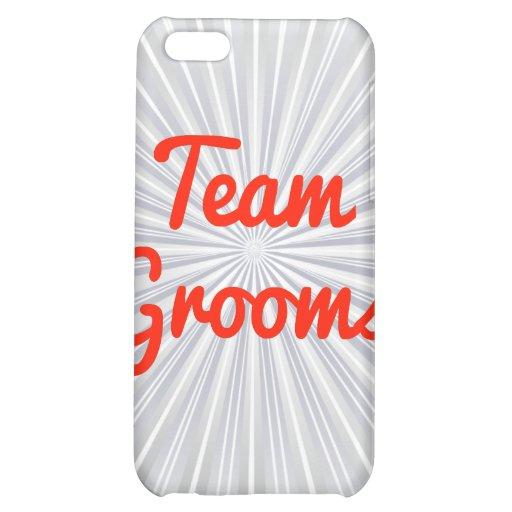 Team Grooms iPhone 5C Cases
