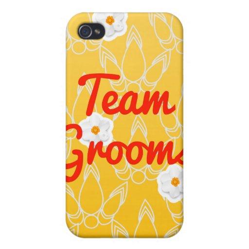 Team Grooms iPhone 4 Case