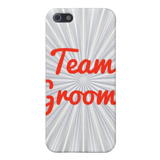 Team Grooms iPhone 5 Cover