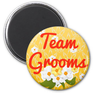 Team Grooms Magnets