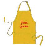 Team Grove Aprons