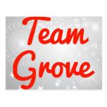 Team Grove Post Cards
