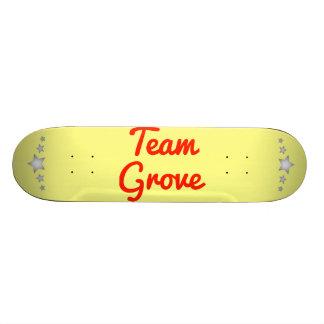Team Grove Skateboard Decks