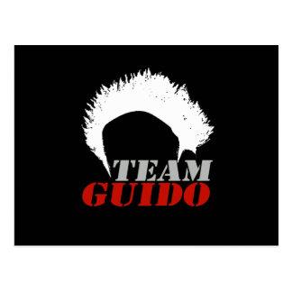 TEAM GUIDO POSTCARD
