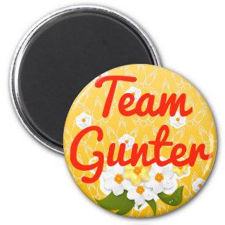 Team Gunter 2 Inch Round Magnet