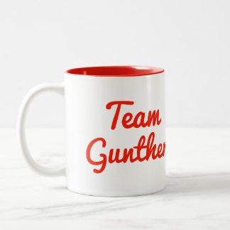 Team Gunther Two-Tone Coffee Mug