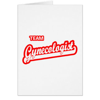 Team Gynecologist Card