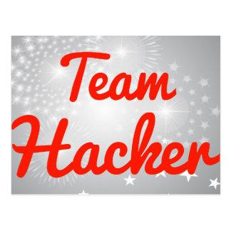 Team Hacker Postcard